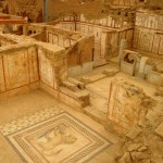 Uncovered houses at Ephesus - Cruise and Tour Planners